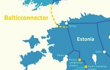 The most recent projects - Baltic Connector. Paldiski and Puiatu natural gas compressor stations in Estonia.